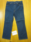 Vintage levis 517 boot cut Irregular made in USA flawed repaired 38x30 V5392