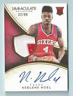 NERLENS NOEL 2013 14 PANINI IMMACULATE RC 2 COLOR PATCH AUTOGRAPH AUTO 99