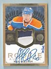NAIL YAKUPOV 2013 14 THE CUP GOLD RC 2 COLOR PATCH AUTOGRAPH AUTO 64 OILERS