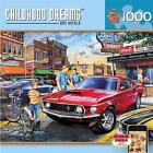 Masterpieces - Dan Hatala Dave's Diner Muscle Car Jigsaw Puzzle - 1000 pc