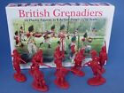 Toy Soldiers Revolutionary War British Infantry 16 Plastic Figures 1/32 Barzso