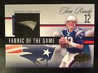 Tom Brady 2006 Leaf Certified Materials Fabric Of The Game Jersey #d 01 25!!