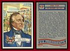 1956 Topps US Presidents Trading Cards 12