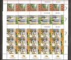 Israel 2011 Agricultural Achievements Full Sheets Scott 1894-1896 Bale 1848-1850