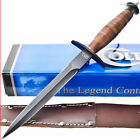 Colt V-42 Double Edged Dagger Fighting/Combat Knife w/ Sheath Fighter CT280
