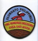 SUBIC BAY NAS CUBI POINT OLONGAPO PHILIPPINES 100 MISSIONS NAVY SQUADRON PATCH