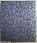 Hallmark Large Post Photo Album / Scrapbook Blue Paisley Cover w/ Refill Choice