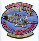 MCDONNELL F-101 VOODOO USAF AIR FORCE TFS FIS FIGHTER SQUADRON PATCH