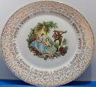 Triumph American Limoges USA China d' Or 10 Inch Plate  22 K Gold  Estate Find w