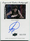 2009-10 Exquisite Collection RICKY RUBIO Auto Rookie Signed RC SP # 225