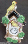 Vintage Cuckoo Clock w/Yellow Birds Wall Pocket Made in Japan