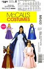 McCall's Sewing Pattern M6420 Women's Costume S-XL Princess Dress Cape Gown 6420