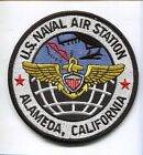 NAS NAVAL AIR STATION ALAMEDA CA US NAVY BASE SQUADRON JACKET PATCH