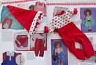 SHIRLEY TEMPLE IDEAL RED PAJAMAS w/ HAT FOR ST-12  DOLL