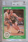 1985 Star Team Supers 5 X 7 #BC1 Larry Bird BGS 9