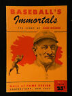 1961 BASEBALL IMMORTALS #2 HONUS WAGNER HALL OF FAME SERIES HIGH GRADE