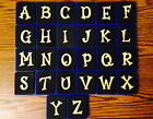 Choice Sizzix Fun Serif Uppercase Lowercase Letters Lot A-z Alphabet Blue Dies
