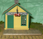TELEGRAPH OFFICE DEPOT HO Railroad Structure Craftman Wood Kit CM31121