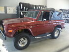 Ford  Bronco Bronco 1977 ford bronco custom 4 x 4 soft top convertible 4 wheel drive 4 wd restored