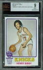 1973-74 TOPPS # 48 HENRY BIBBY RC PROOF BGS 9 SOLO FINEST GRADED, UNIQUE