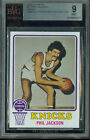 1973-74 TOPPS # 71 PHIL JACKSON PROOF BGS 9 SOLO FINEST GRADED UNIQUE