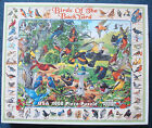 jigsaw puzzle 1000 pc Birds of the Back Yard  White Mountain Puzzles 3 pcs gone