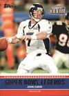 2011 Topps Super Bowl Legends #SBLXXXIII John Elway - NM-MT