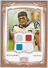 DeAngelo Williams 2009 Topps Mayo Jumbo Quad Relic Jersey Box Topper Panthers