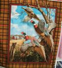 1 Yd Springs Wild Wings Quilt Fabric Crested Ringneck Pheasant Wallhanging Panel