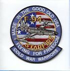 LOCKHEED F-94 STARFIRE USAF FIS FIGHTER INTERCEPTOR AIR FORCE SQUADRON PATCH