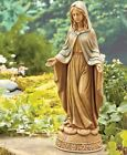 BLESSED VIRGIN MARY OUTDOOR GARDEN YARD STATUE RELIGIOUS SCULPTURE DECORATIONS
