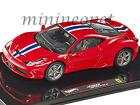 HOT WHEELS ELITE BLY45 FERRARI 458 ITALIA SPECIALE 1 43 DIECAST MODEL CAR RED