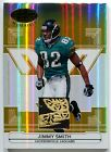 2006 Leaf Certified Materials JIMMY SMITH Gold 3 Color Jaguars LOGO Patch # 25