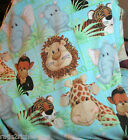 JUNGLE BABIES Patty Reed ~MICRO FLEECE~ Fabric TRADITION~ RARE 2005 Edition BTY
