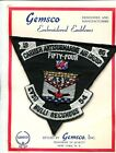 CVSG-54 CARRIER ANTISUBMARINE AIR GROUP US NAVY VINTAGE SQUADRON CAG PATCH