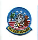 ANYTIME HUSSEIN BABY US NAVY GRUMMAN F-14 TOMCAT VF FIGHTER SQUADRON PATCH