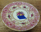 Royal Worcester England Antique Z227 Z 227 Red Gold WEAR XX Roses 1 Bread Plate