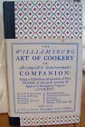 Vintage 1960 The Williamsburg Art of Cookery Cookbook 7th Pristine Reprint Book