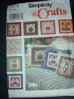 Simplicity Pattern 7879 7 Seasonal Button Panels for Pillows MUST SEE!! UNCUT