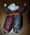 Tiny Mardi Gras Clown Masquerade Carnaval Porcelain Doll
