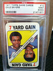 1971 TOPPS Game # 10 Gale Sayers PSA Mint 9 (OC)       #1971