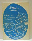 Book New and Selected Poems 1969 1990 by John McNamee Signed  inscribed 1990