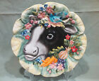 Fitz & Floyd Country Chic Cow Canape Plate