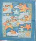 1 Yd Springs Baby Quilt Fabric Panel Flannel Milky Way Bears Wall Hanging