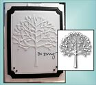 MEMORY BOX Steel Dies ARBOSCELLO TREE 98155 all occasion tree with leaves die