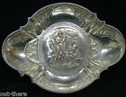 OLD SHEFFIELD--OVAL BOWL--FOOTED--NEO-CLASSICAL--SILVER ON COPPER--BUY IT NOW--