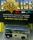 1:64,RACING CHAMPIONS,POLICE U.S.A. 1949 MERCURY FLORIDA HIGHWAY PATROL CAR