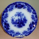 HTF Great Ca. 1850s Staffordshire Alcock Flow Blue Oriental Scinde China Plate
