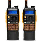 2x *3800mAh* Battery Baofeng GT-3TP MarkIII 8W Dual Band V/UHF Ham Two-way Radio