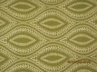 cotton upholstery brocade olive green